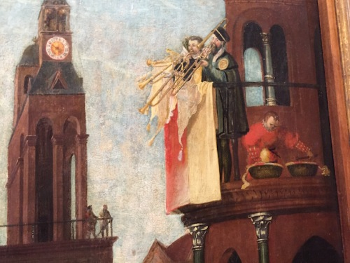 detail from esther and ahasuerus by lorck
