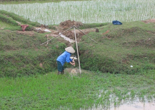 irrigation vietnam