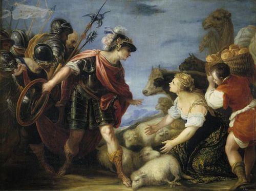 Abigail and David by Juan Antonio de
