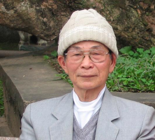 man in garden saigon