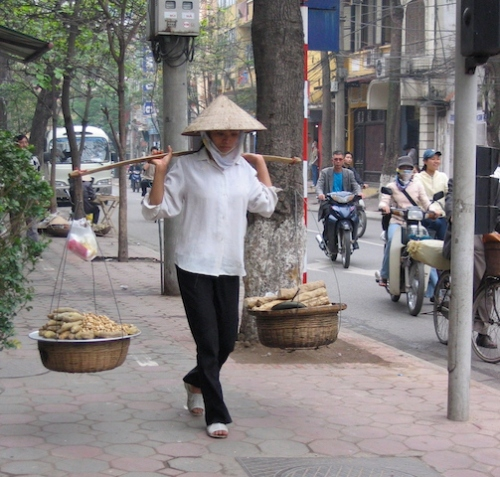 yoked merchant in vietnam