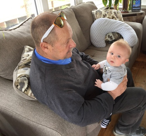 dave and great nephew