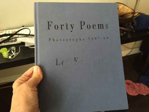 forty poems by lee kasing