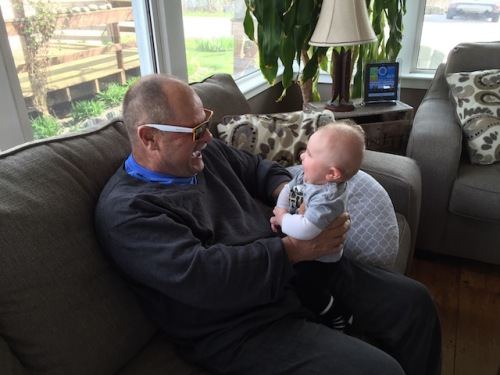 great uncle and great nephew