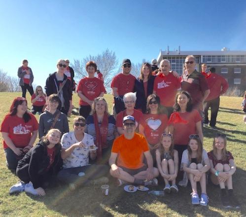 ms walk team 2016