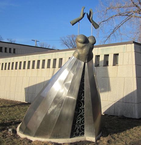 vrignon la promise st. boniface sculpture garden