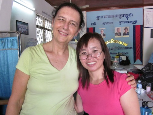 I learned so much from this elementary school principal in Cambodia when I worked at her school