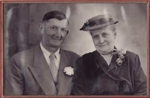 My grandparents Margareta Sawatzky Peters (  1900-1999)  and Diedrich Peters (1901-1996)