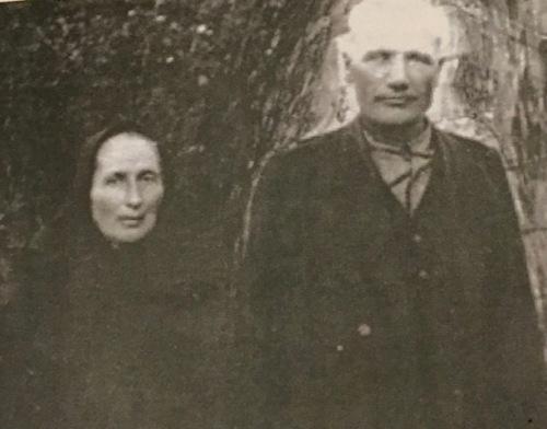 My grandmother's parents Franz Sawatzky 1869-1936) and Margaretha Schellenberg Sawatzky (1873-1943)