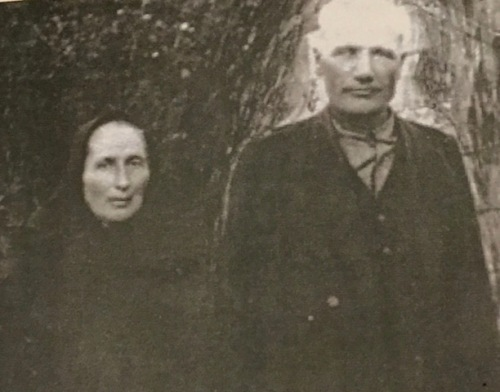 My grandmother's parents Franz Sawatzky 1869-1936) and Margaretha Schellenberg Sawatzky (1873-1943)