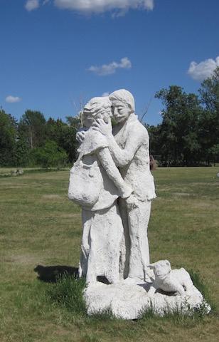 sculpture 12 university garden