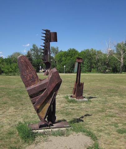 sculpture 2 university garden