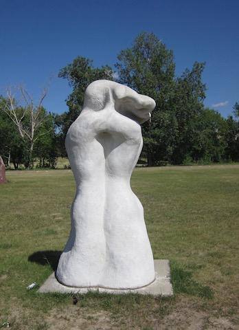 sculpture 4 university garden