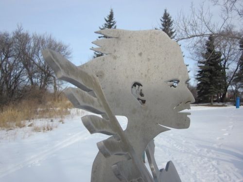statue gabrielle roy