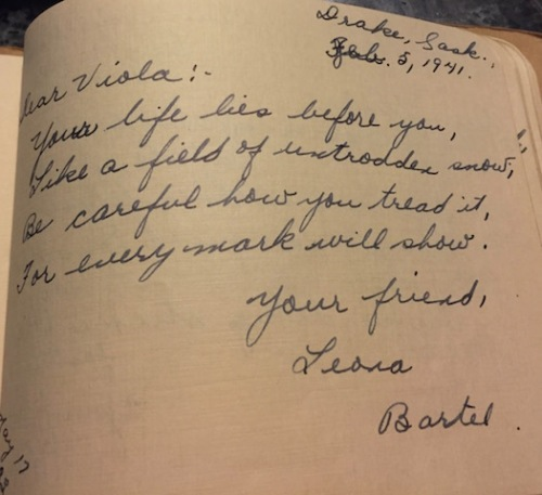 advice autograph