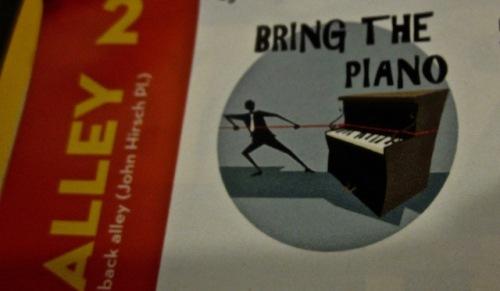 bring the piano