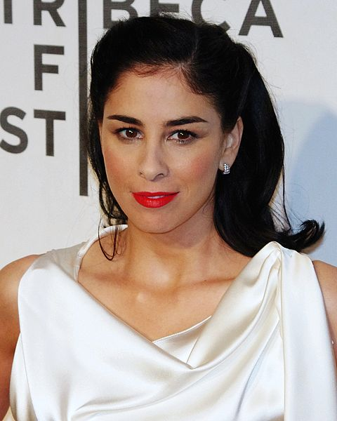 Photo of Sarah Silverman from Wikimedia Commons