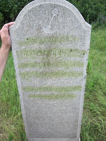 daniel peters tombstone
