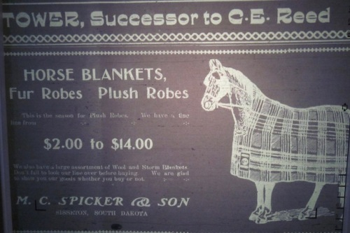 horse blanket ad