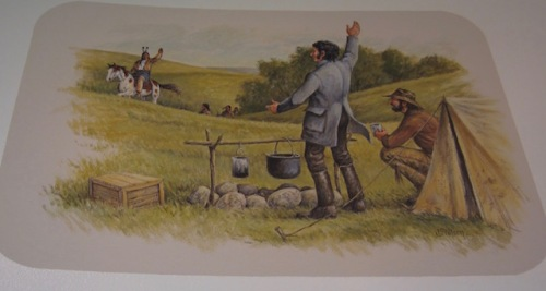Because he had such good repoire with the Dakotah people they agreed to the building of the tower in Nicolett's honour