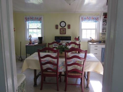 kitchen at farm b and b