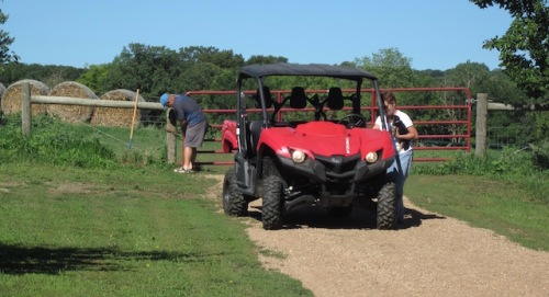 all terrain vehicle farm b and b