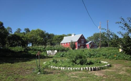 barn at farm b and b