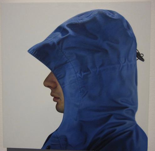 Untitled Blue Hood 2002 by Karel Funk