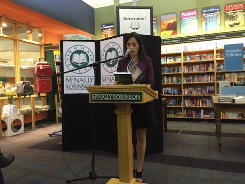 My friend Mindi launches her book Subversion at McNally Robinson