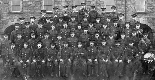 Newfoundland Regiment in 1915