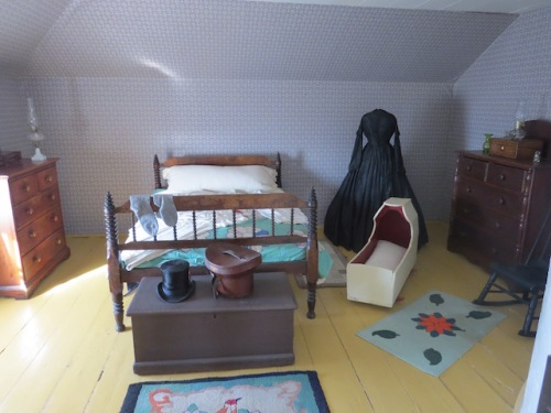 Bedroom of lighthouse keeper and his wife