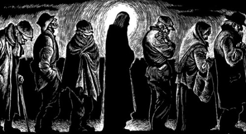 Christ of the Breadlines by Fritz Eichenberg