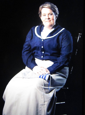 An actress tells Maggie's story at The Rooms museum in St. John's
