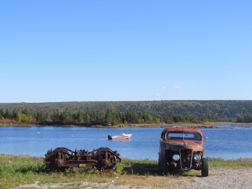 rusty-truck-on-the-shore