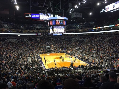 The Phoenix Suns lost a nailbiter against the Utah Jazz.  An exciting game.