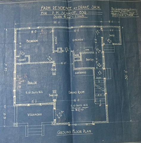 ground-floor-schmidt-house blue print