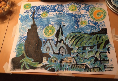 esther's starry night