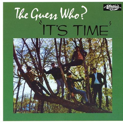 guess who it's time album cover