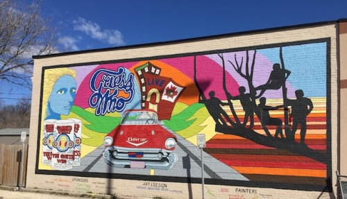 guess who mural winnipeg