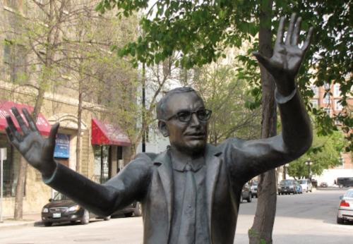 john hirsch statue ruth abernathy