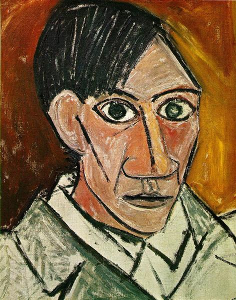 picasso self portrait public domain