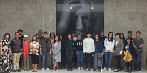 chinese tour group at wag