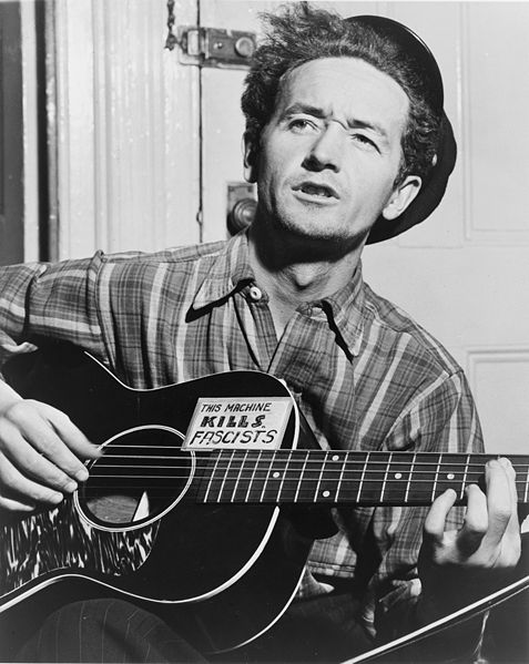 woody guthrie public domain