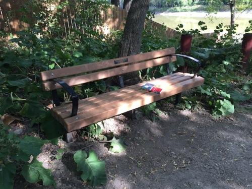 bench benjaminson park