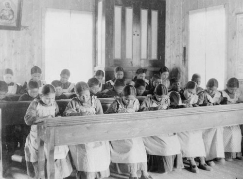 children residential school nwt public domain