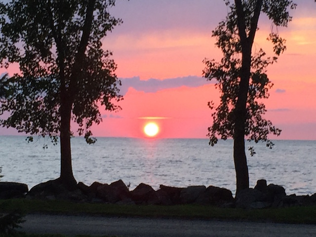 pelee island sunset