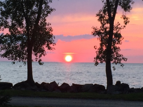 pelee island sunset