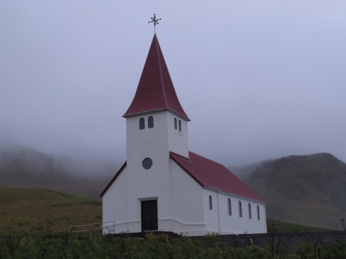 church in Vik