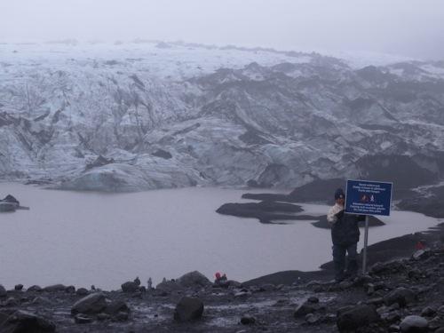 dave sign glacier