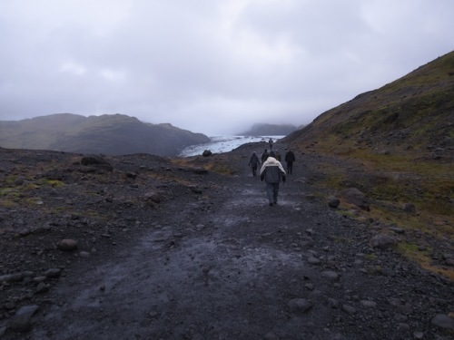 hike to glacier